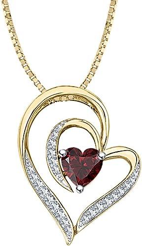 Aokarry 925 Sterling Silver Double Heart Cubic Zirconia Earrings for Women Stud Earrings-Silver