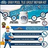 Pool Patch Gray Pool Tile Grout Repair