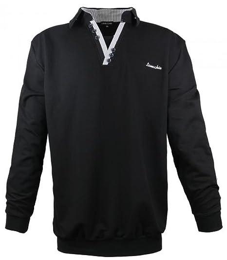 Lavecchia Herren Sweatshirt Classico aus der Kollektion Winter 2016 in Schwarz in den Größen 3XL 8XL