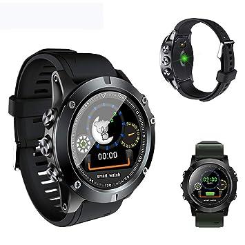 MINSINNY Reloj Inteligente Smart Watch Hombres Mujeres Presión ...