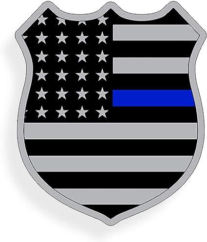 Support Police Flag Thin Blue Line Sticker Decal Lives Matter 2nd Amendment USA