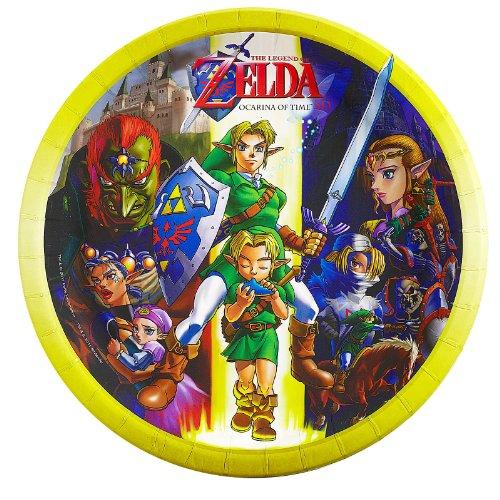The Legend of Zelda Dinner Plates (8) by BirthdayExpress (Image #1)