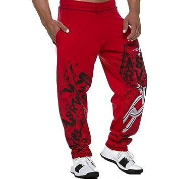 Feidaeu Pantalones de chándal para Hombre de algodón Informal ...