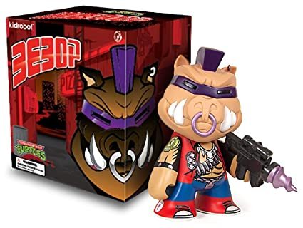Teenage Mutant Ninja Turtles Bebop: TMNT X Kidrobot Figura ...