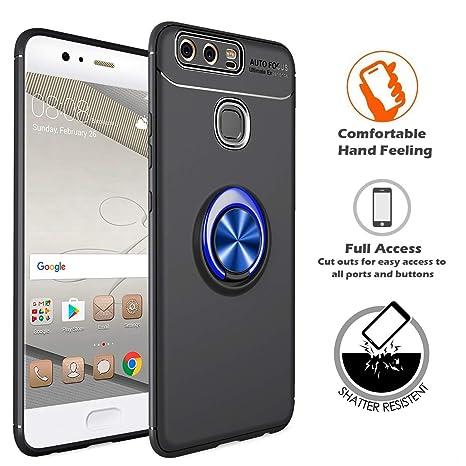 Amazon.com: LIKESEA Huawei P9 Funda, Soporte Rotativo 360 ...