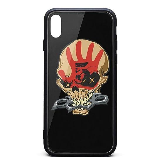 best service a84c9 17df4 Amazon.com: iPhone X/XS Case Five-Finger-Death-Punch- Ultra Slim ...