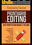 Prontuario di editing: 10 spunti per migliorare il tuo libro