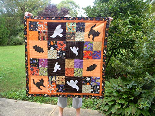 Halloween Quilted Throw or Wall Hanging -