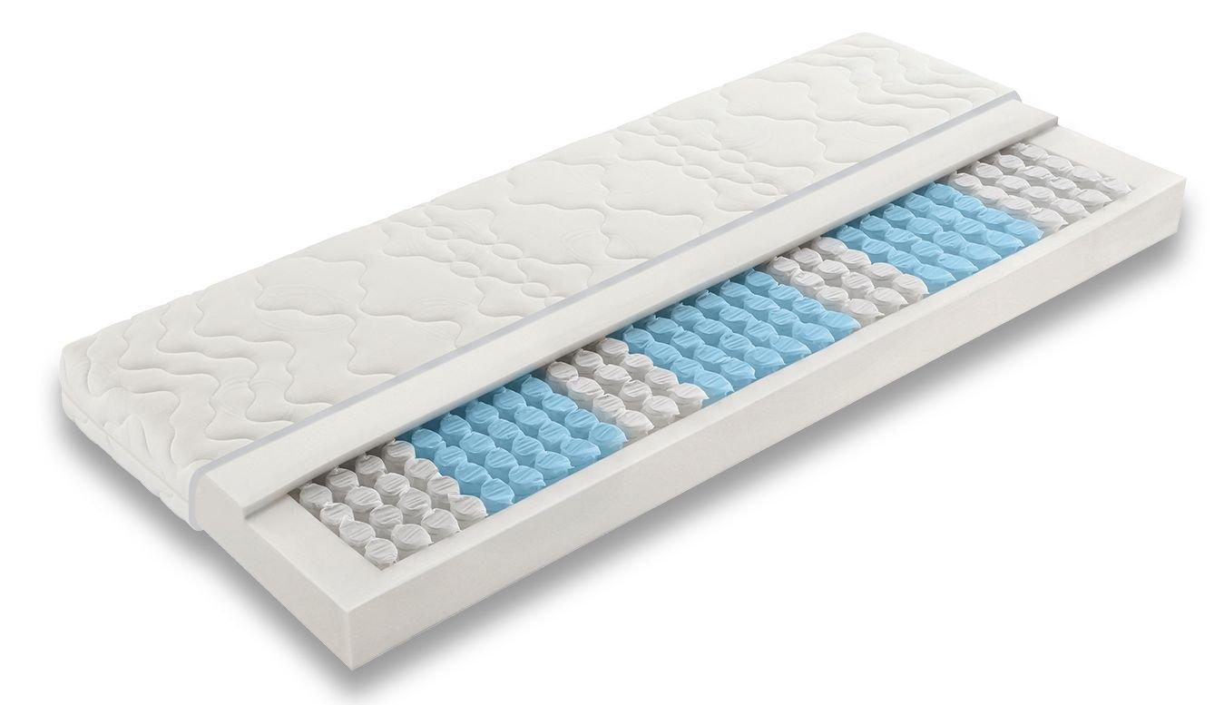 Badenia 3888710159 Bettcomfort Tonnentaschenfederkernmatratze Trendline BT BT BT 200 H3, 90 x 200 cm, weiß 0c0f48