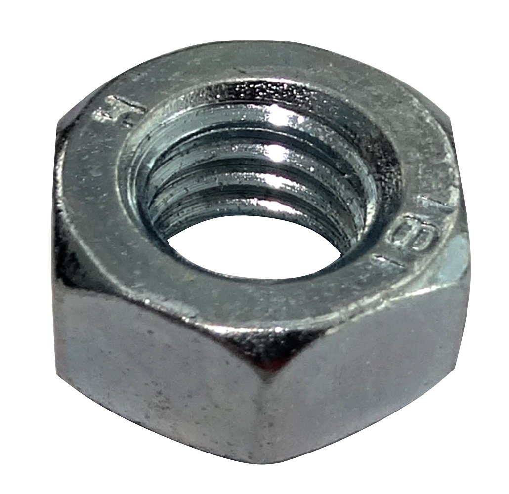 x1 Hexagon Nuts Stainless Steel DIN 934 M1.6