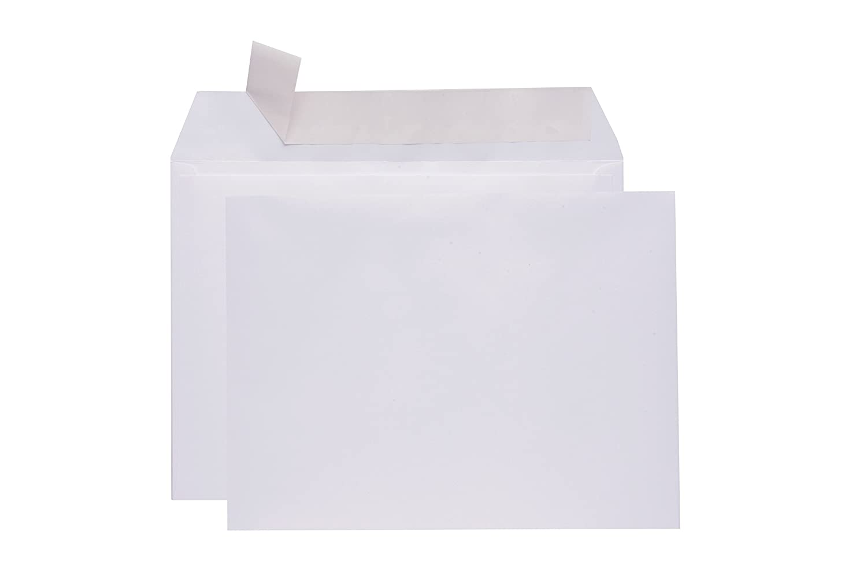 6x9 Envelopes Self Seal Booklet -Color Bright White Strong Envelope-28lb Open Side-30 Pack Size Business Envelopes