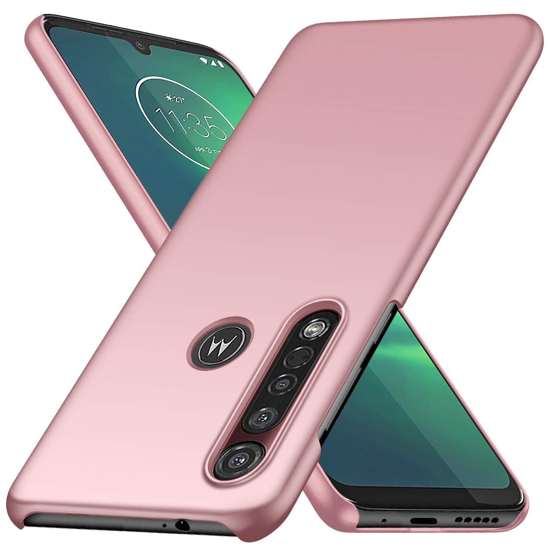 Funda Super Delgada Para Motorola G8 Plus, rosa