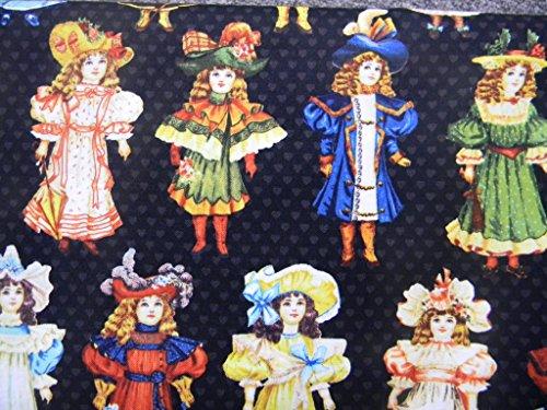 Victorian Paper Dolls (Paper Doll Fabric)