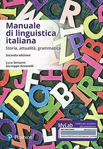 amazon it manuale di linguistica italiana storia attualit rh amazon it
