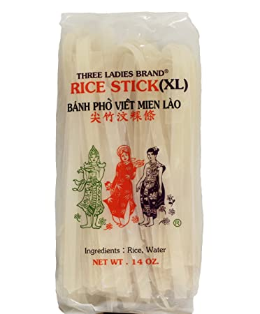 Arroz Stick Noodle – Bolsas de 14 oz. (3 unidades): Amazon ...