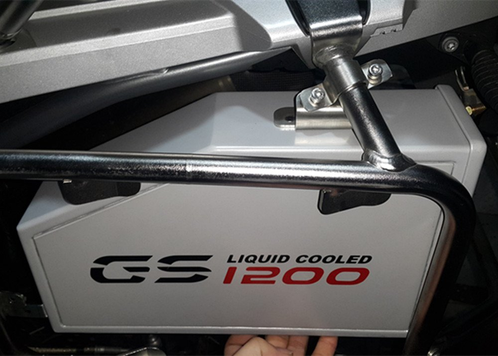 装飾アルミニウムボックスfor BMW r1200gs LC水Coole 2013-onツールボックスSuitable B07B485LPB