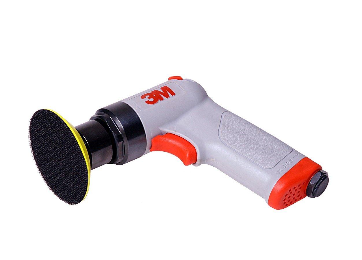 1 per case 3 in 1//8 in Orbit 3M Random Orbital Pistol Grip Sander 28353