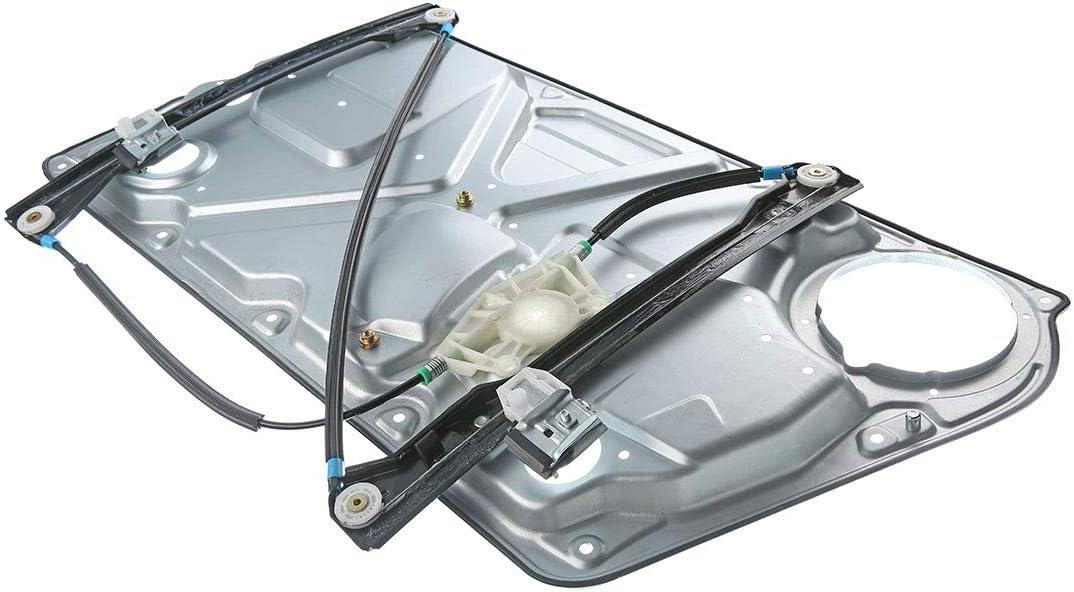 Front Left Driver Side Power Window Regulator and Interior Door Panel without Motor for Volkswagen Beetle 1998-2010 Hatchback