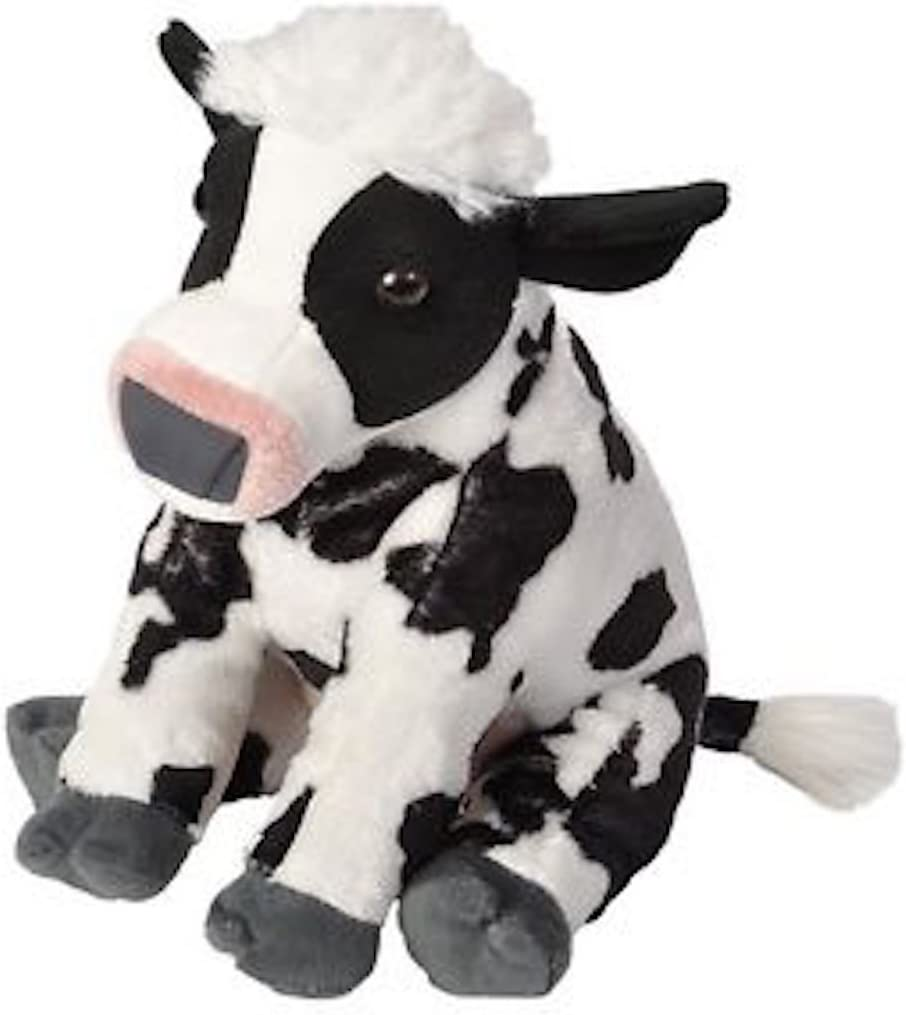 "Wild Republic Cow Plush, Stuffed Animal, Plush Toy, Gifts for Kids, Cuddlekins 12"""