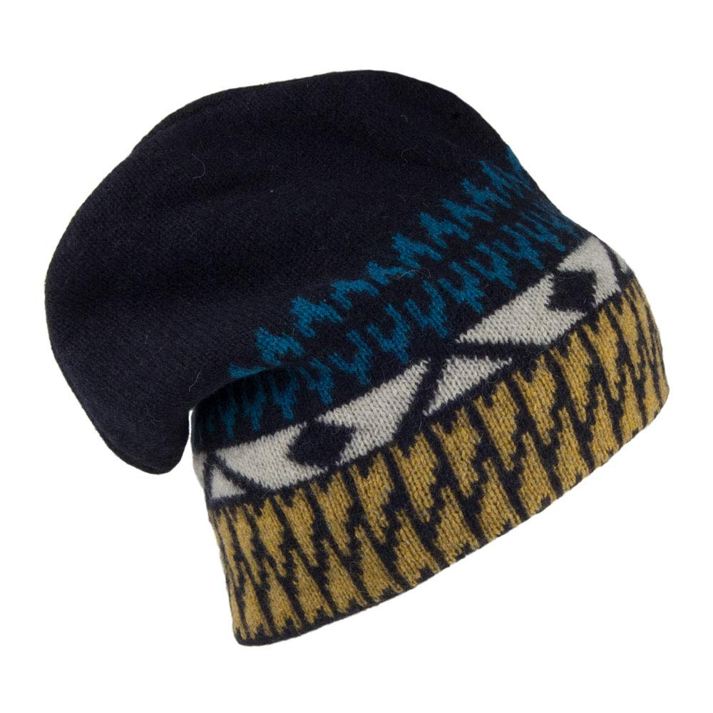 Patagonia Hats Backslide Beanie Hat - Navy Blue 1-Size  Amazon.co.uk   Clothing c0409dc12af