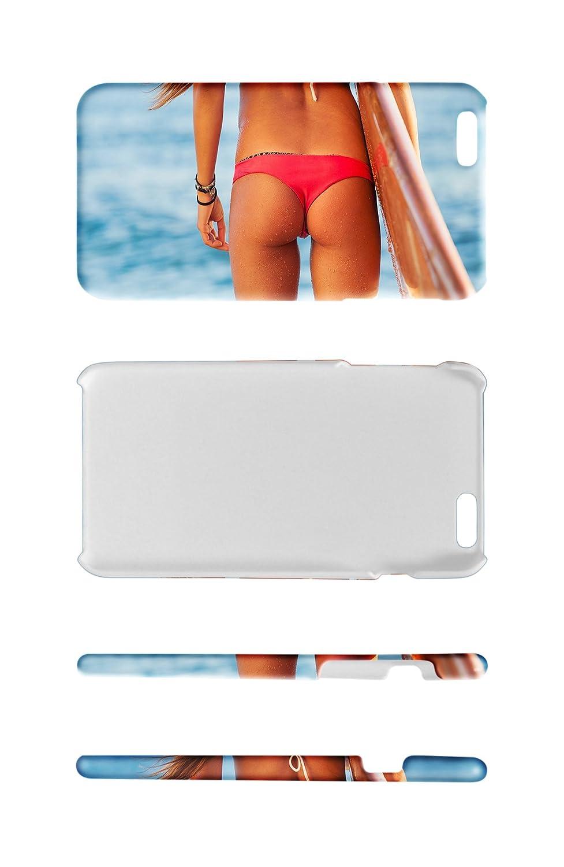 Funda Protectora Carcasa para IPhone 7 Chica Sexy Tabla de surf de playa: Amazon.es: Electrónica