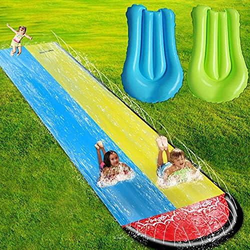 EPROSMIN Water Slides for Kids Backyard – 15.75ft Slip and Slide for Kids Water Slide,Outdoor Water Toys for Kids Slide,Inflatable Water Slide for Big Kids and Adults