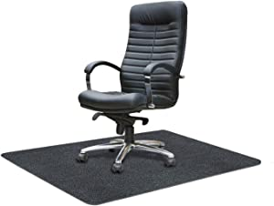 "Office Chair Mat for Hard Floor, ACVCY Chair Mat Floor Protector Desk Mat Multi-Purpose for Home 0.16"" Thick 47""x35"" Freely Cuttable(Light Grey)"