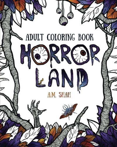 Price comparison product image Adult coloring book: Horror Land