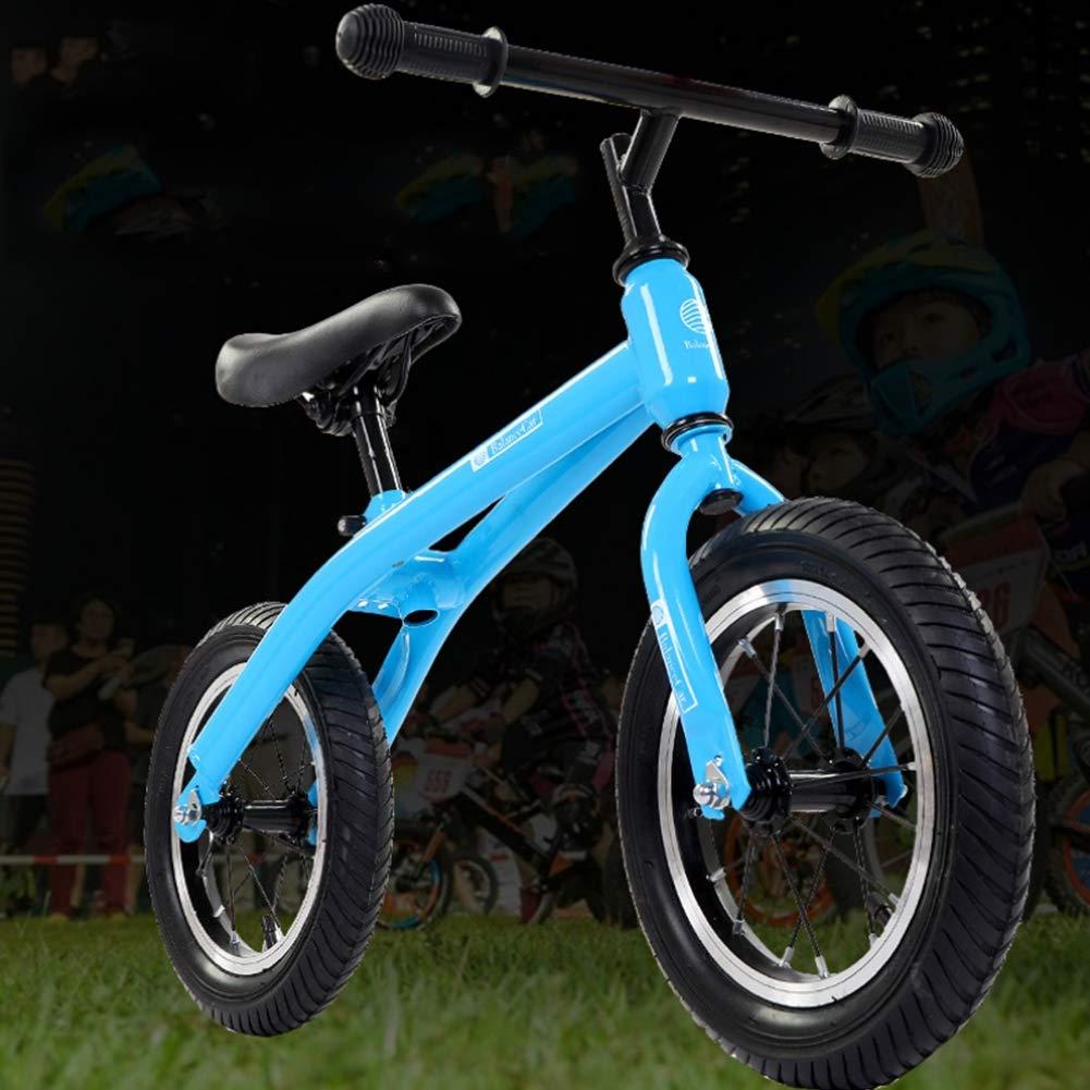 XIAOXIAO Bicicleta de Equilibrio Deportivo sin Pedales uomoillares y Asientos Ajustables para niños de 2 a 6 años