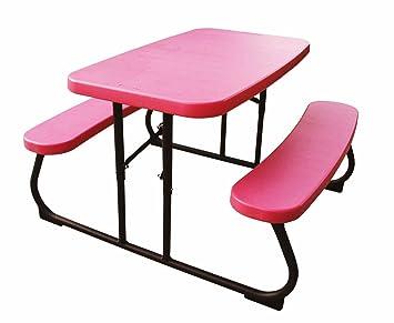 Lifetime 80156 Lifetime Kids Folding Picnic Table   Pink