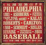 Philadelphia Phillies Vintage Style Wooden Sign-18x18
