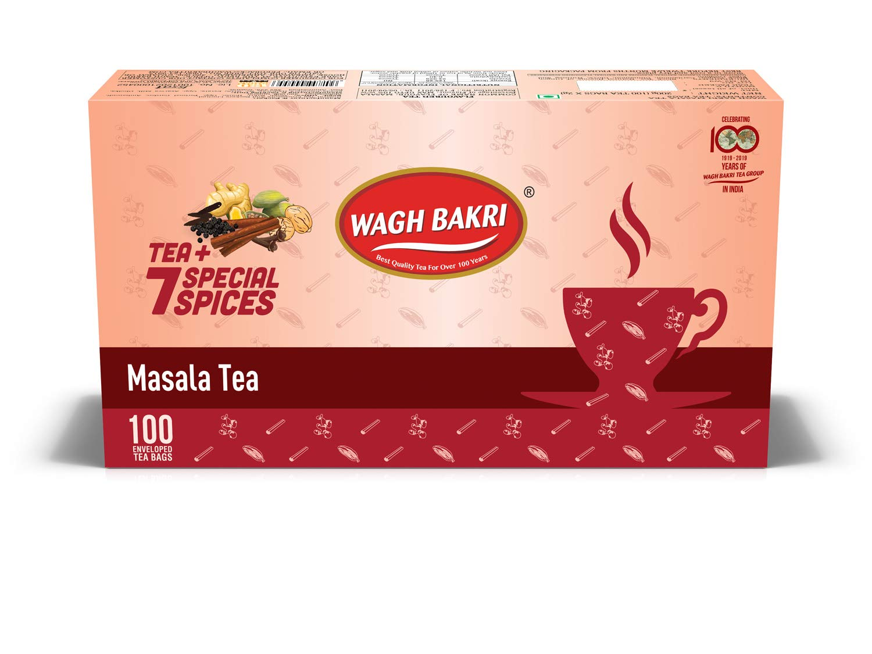 Wagh Bakri Masala Chai Tea Bags, 200g