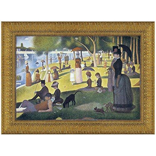 Design Toscano Sunday Afternoon on the Island of La Grande-Jatte, 1886, Canvas RepLarge by Design Toscano