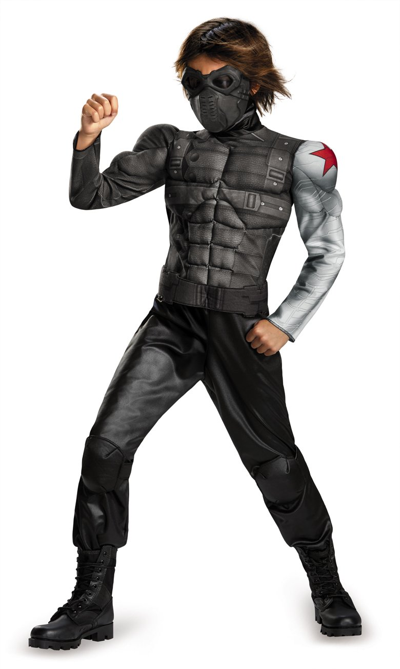 Winter Soldier Muscle Costume