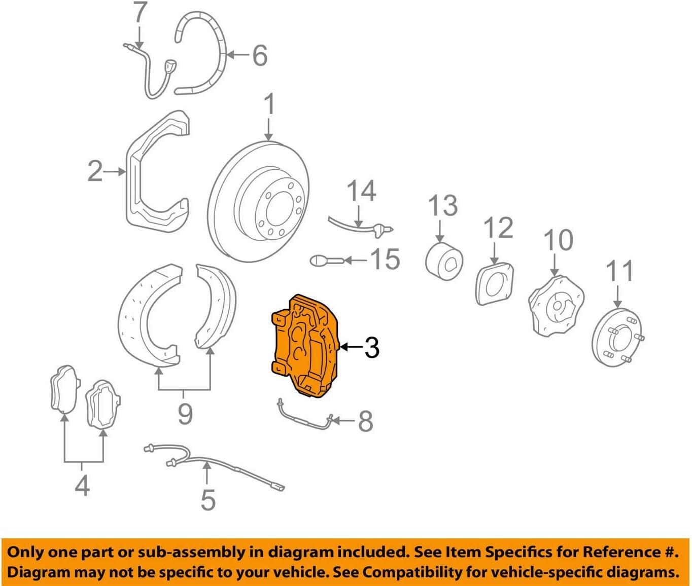 porsche 996 diagrams porsche 996 352 426 60  disc brake caliper  calipers amazon canada  porsche 996 352 426 60  disc brake