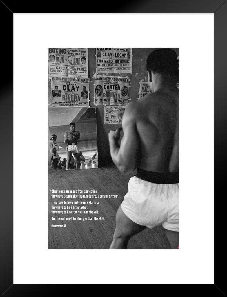 Pyramid America Bob Marley Football Matted Framed Poster 20x26 inch