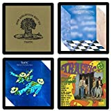 Traffic (Band) - Collectible Coaster Gift Set #1 ~ (4) Different Album Covers Reproduced on Soft Pliable Coasters