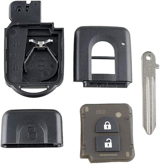 Zinniaya Mini Caja de Llave remota Llavero Remoto Paquete Inteligente para Nissan Qashqai X-Trail Micra Note Pathfinder