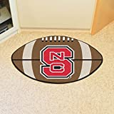 Football Floor Mat - North Carolina State