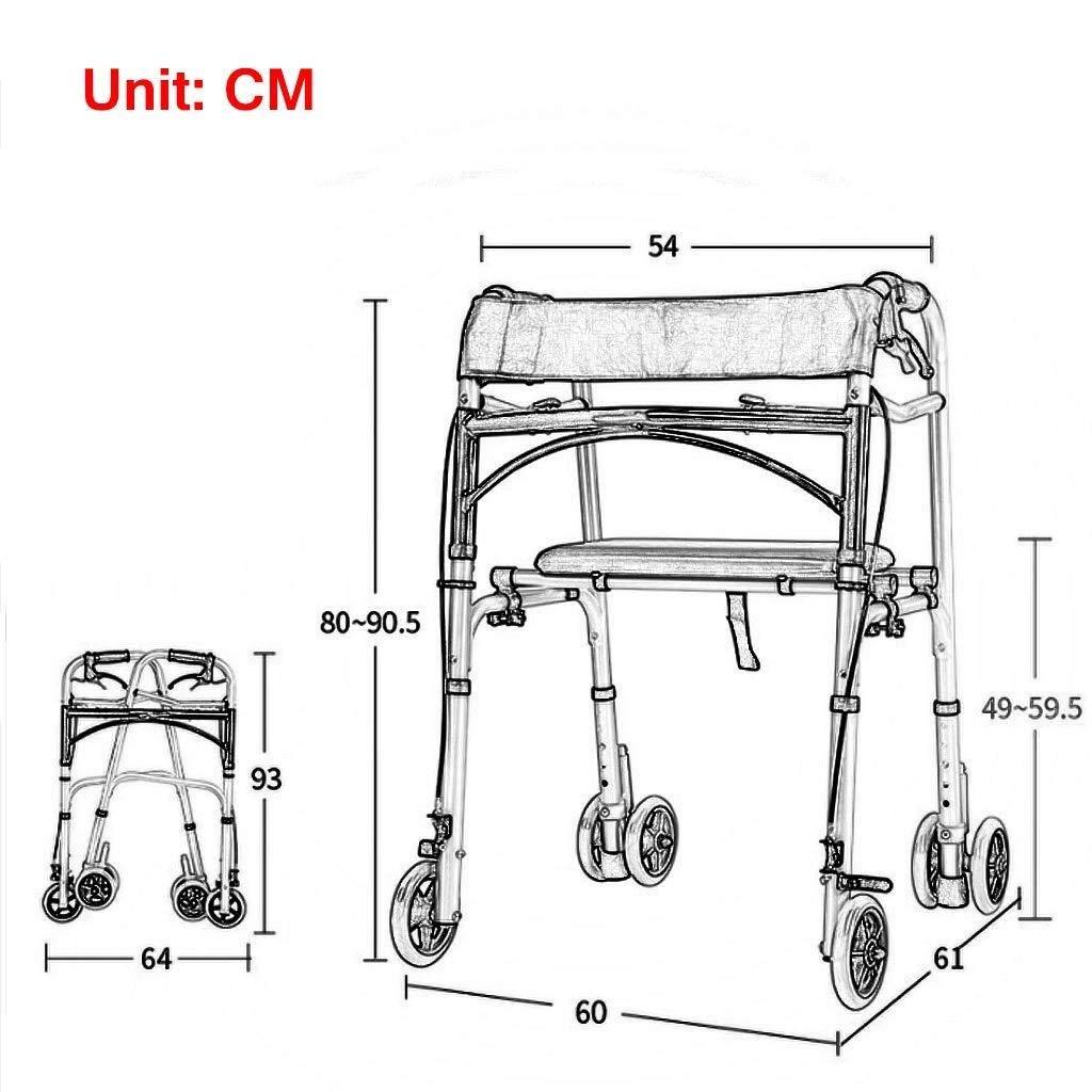Amazon.com: Bbhhyy - Silla de transporte para discapacitados ...