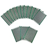 Ocr ® 15PCS PCB Board Universal Double Sided Prototyping Breadboard Panel 5x7cm