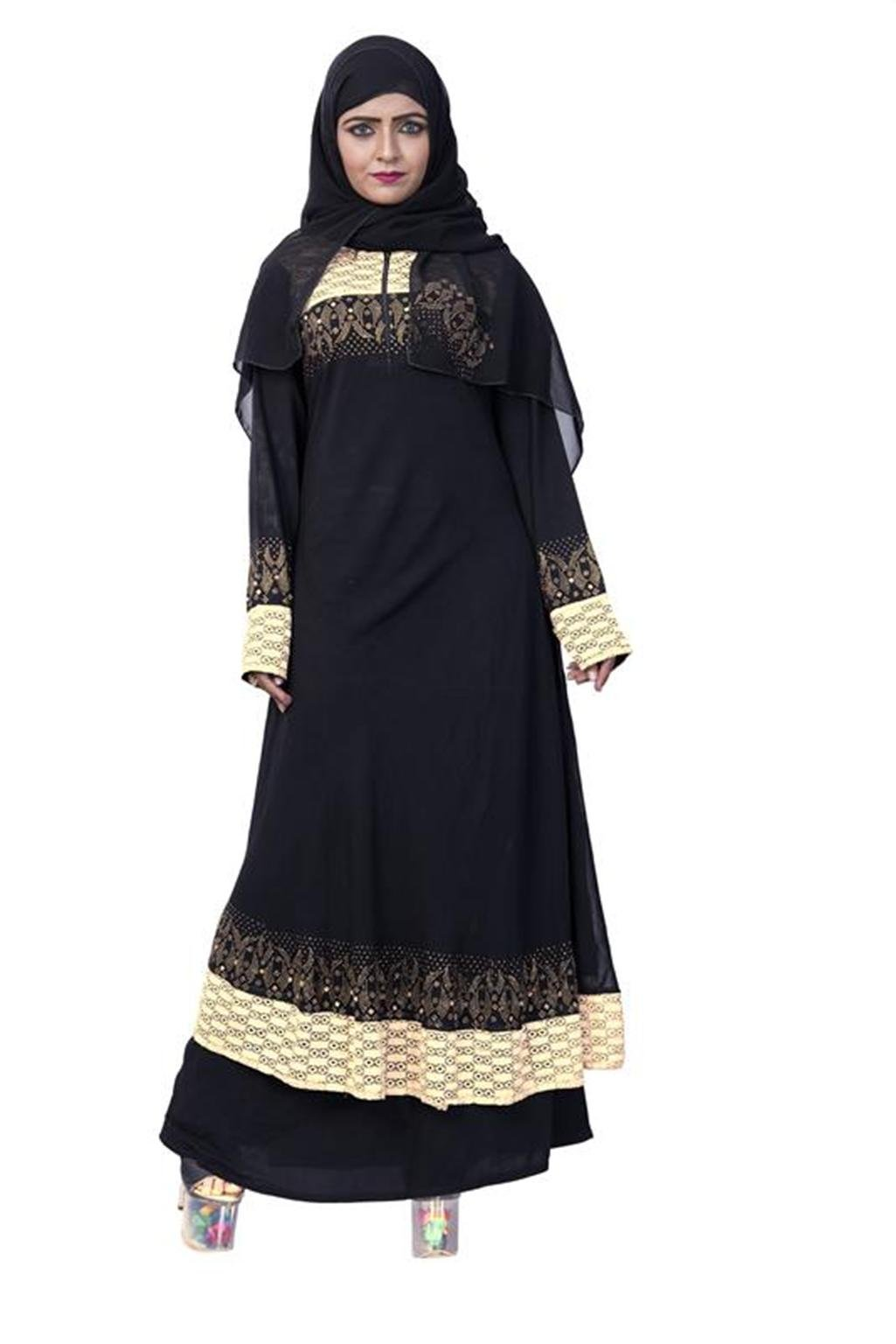 Women's Muslim Long Clothing Abaya Islamic Kaftan Burka Lady Cocktail Dress