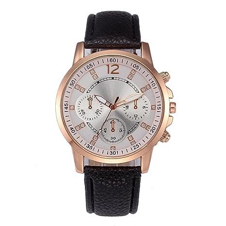 Beladla Relojes Hombre Digitales Hombres Casual CláSicos Lujo Negocio Cuarzo Faux Cuero Banda Reloj De Pulsera Reloje De Pulsera: Amazon.es: Ropa y ...