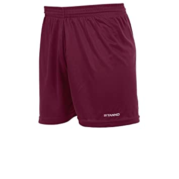 14523c4e92 Stanno - Club Shorts (Without Inner Lining) - Black Maroon Size:6-