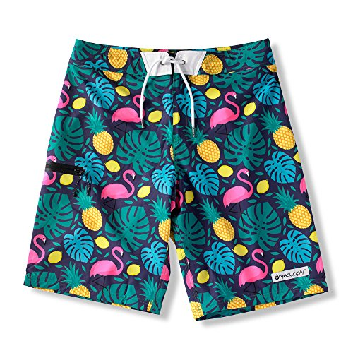 (DryeSupply's The Boardshort – Fully Lined Men's Swimwear Combining Fashion and Technology)