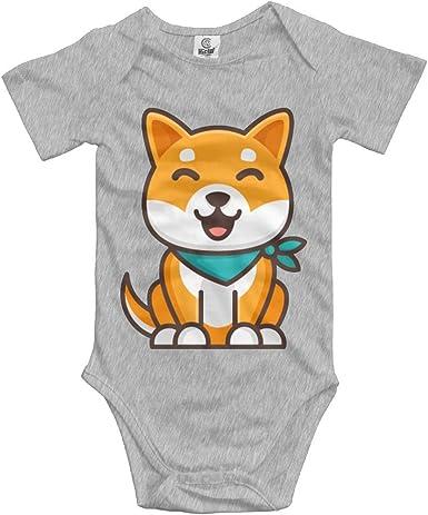 Shiba Inu Dog Baby Girls Bodysuit Gap Fashion Romper Playwear