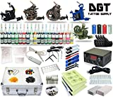 DGT 5 Tattoo Machines Power Supply 40 colors ink set Tattoo Kit set