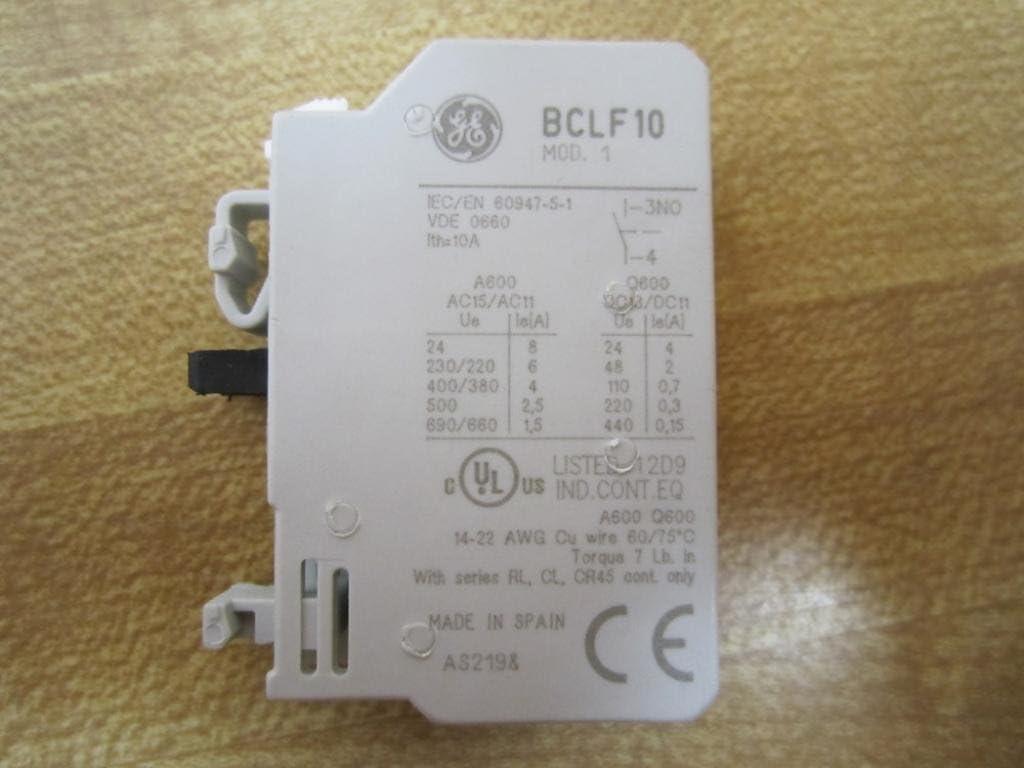 10pcs 1 NO Contact Block Replaces TELE  6A 380V