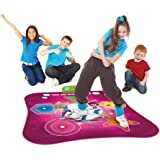 Wishtime Move and Groove Electronic Musical Playmat Toy Instrument Dance Mat with CD/MP3 Plug In for Kids