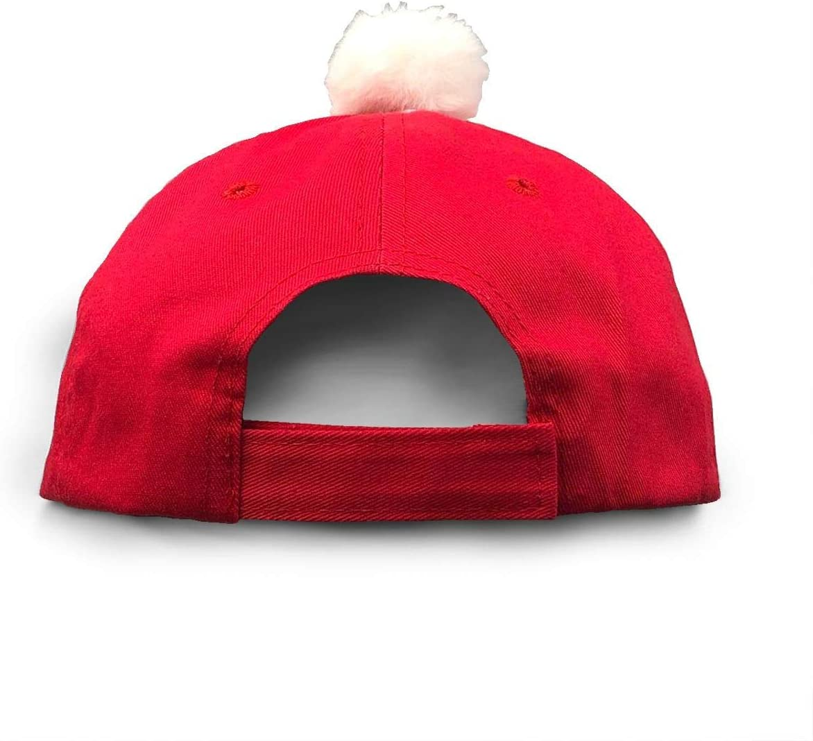 IOI Innovative Online Industries Ready Player One Christmas Hats Red Santa Baseball Cap for Kids Adult Families Celebrate New Year Party GGdjst Weihnachtsm/ützen